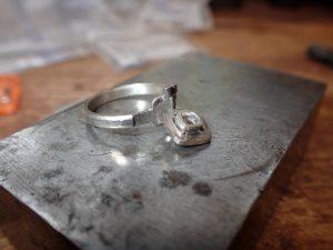 Handmade Engagement Ring