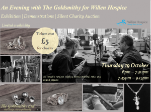 Exhibition and silent auction for Willen Hospice
