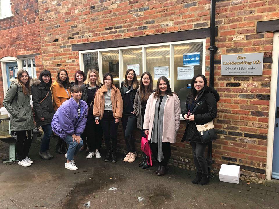 Bloggers at The Goldsmithy Stony Stratford