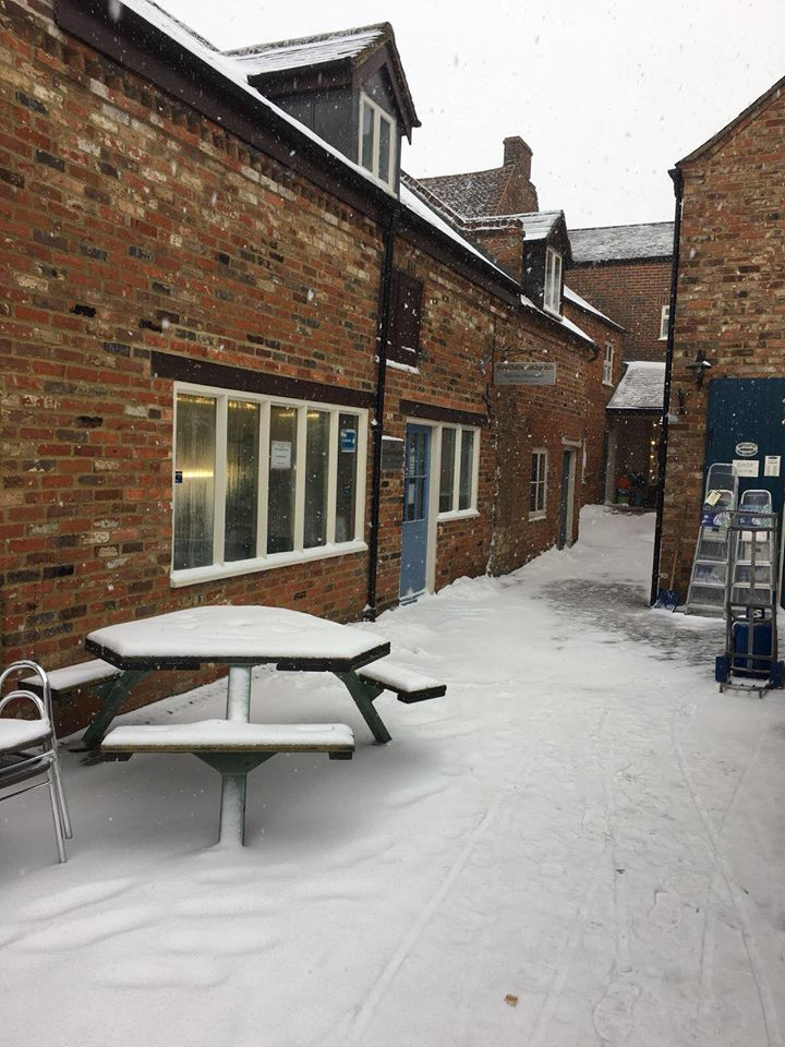 Snow Day at The Goldsmithy